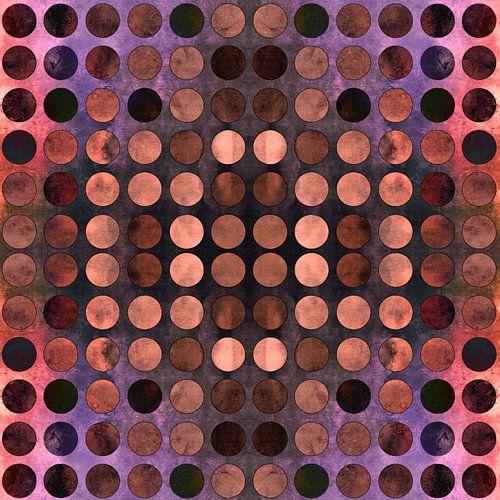 MELANGE van Blue-Coral-Rust no2 van