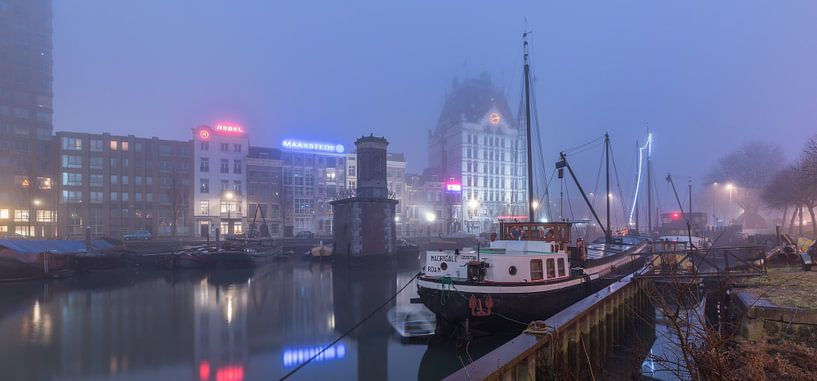 Oude Haven in Rotterdam van Rob van der Teen