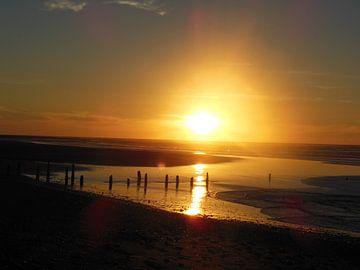 zonsondergang van Joelle van Buren