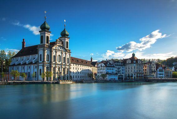 Jezuïeten kerk van Luzern van Ilya Korzelius