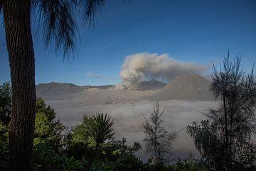 Bromo (vulkaan) indonesie van Jan Pel