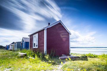 Ein windiger Tag auf Aerö von Matthias Nolde