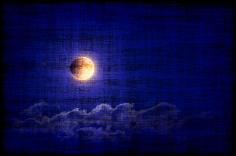 Vollmondnacht von Leopold Brix