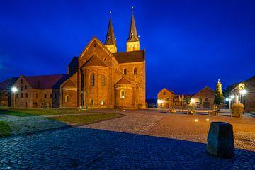 Monastère en soirée sur Martin Wasilewski