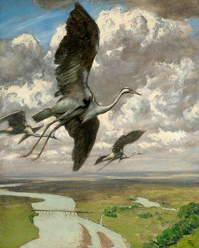 Wundersame Vögel, Hans Thoma