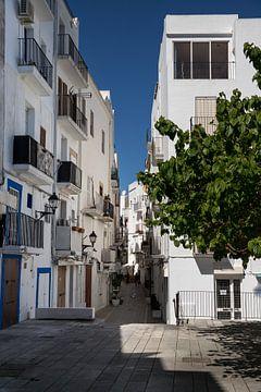 Gasse in Ibiza Stadt von Alexander Wolff