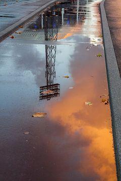 Reflectie De Kuip van Prachtig Rotterdam