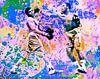 Motiv Muhammed Ali vs Joe Frazier Sport Pop Art Pur van Felix von Altersheim thumbnail