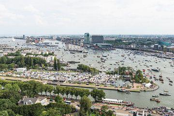 SAIL AMSTERDAM 2015: SAIL-In vanaf de A'DAM toren. van