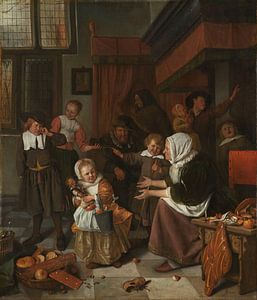 Het Sint-Nicolaasfeest, Jan Havicksz. Steen