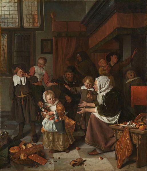 Das Nikolausfest, Jan Havicksz. Stein von Meesterlijcke Meesters