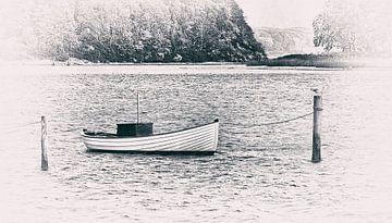 Boot an der Leine von Kirsten Warner