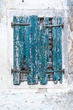 Raam Korfoe Griekenland van Gerben Duijster