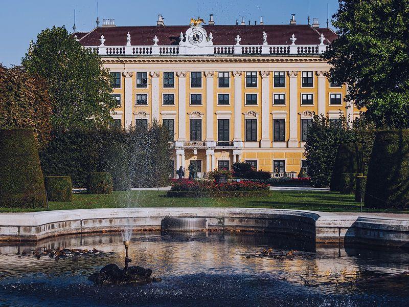 Wenen - Paleis Schönbrunn / Kammergarten van Alexander Voss