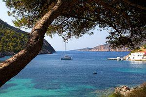 UitzichtKefalonia griekenland van Elly Damen