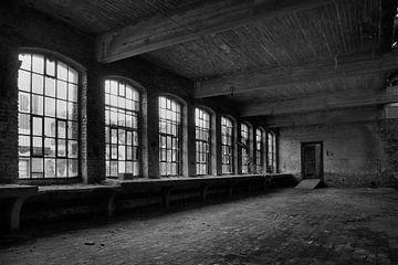 Verlassene Glashütte von