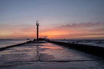 Roze / oranje Pier van Paul Veen