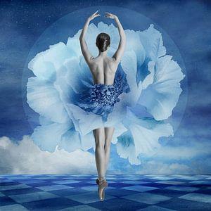 Blue Dancer van Marja van den Hurk