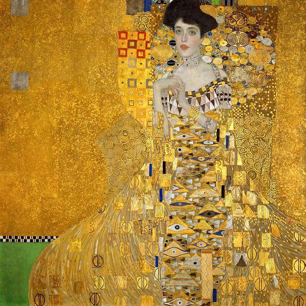 Adele Bloch-Bauer  - Gustav Klimt - 1907 van Het Archief