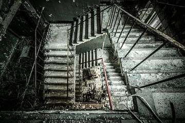 The staircase van The Pixel Corner
