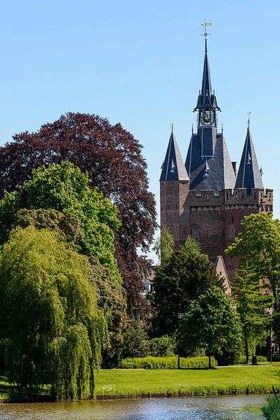 Sassenpoort in Zwolle van Sjoerd van der Wal
