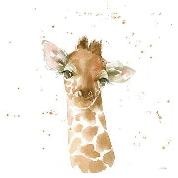 Baby giraffe, Katrina Pete van Wild Apple