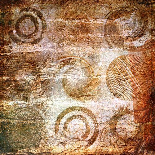 Variaties op een cirkel, bruin