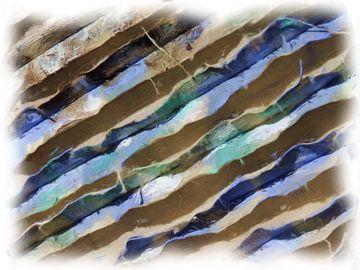 Blau-graue Diagonalen von Maurice Dawson