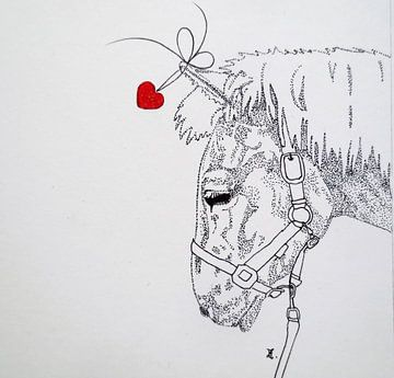 HeartFlow Paard von Helma van der Zwan