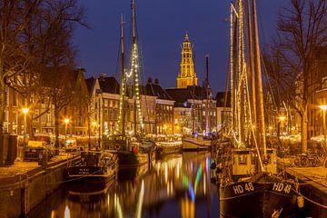 Winterwelvaart Groningen 2015 van Wil de Boer