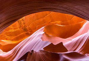 Boog antilope canyon van Kevin Pluk