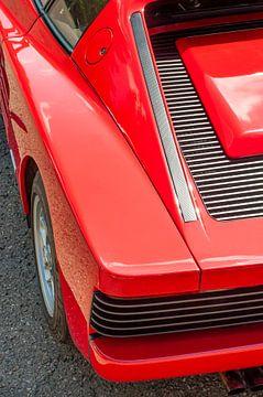 Ferrari Testarossa détail sur Sjoerd van der Wal