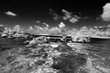 Küste bei Levkos, Karpathos, Griechenland von Peter Baak