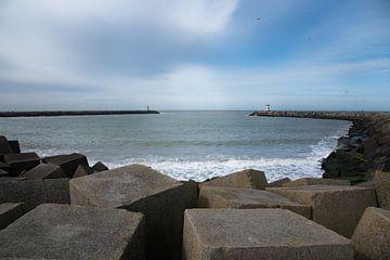 De haven van Scheveningen van Cilia Brandts