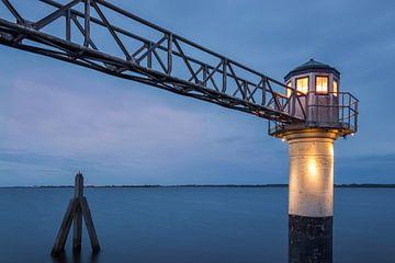 Leuchtturm Oostmahorn von Marga Vroom