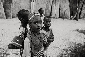 Senegalese kinderen van Elien Van den Brande
