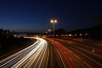 Trubel auf der Autobahn von Erik Winde