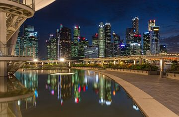 Singapur Architektur von Ilya Korzelius