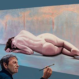 Peinture Pascal Chove sur Paul Meijering
