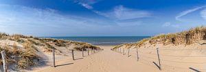 Naar het strand van Remco Piet