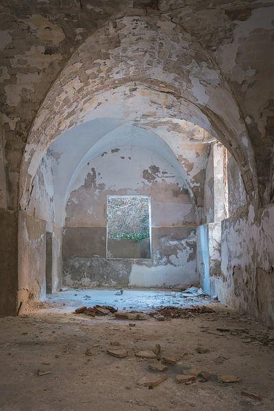 Verlaten plekken: textielfabriek 1 van Olaf Kramer