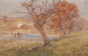 T C. Steele (Amerikaner, 1847-1926)-Landschaft