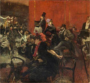 Feiertags-Szene, Giovanni Boldini