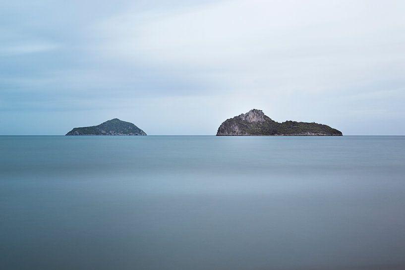 Twee eilanden van Johan Zwarthoed