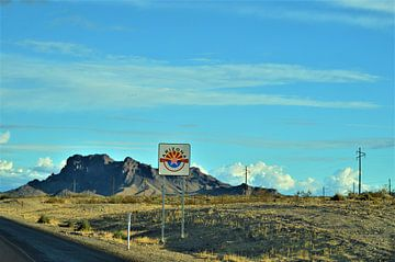 Arizona landscape van Lisanne Rodenburg