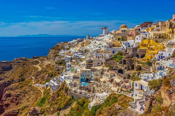 Oia, Santorini (Griekenland) van Tux Photography
