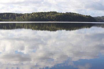 Wolken im Wasser van Heike Hultsch