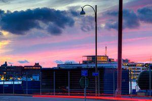 Göteborg Harbour - Dramatic Sky