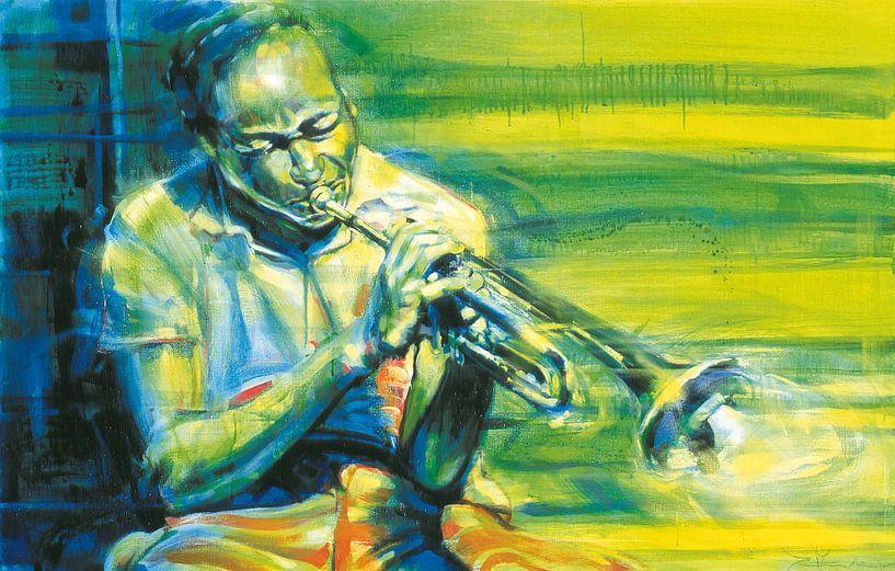 Clifford Brown Trompettist van Frans Mandigers