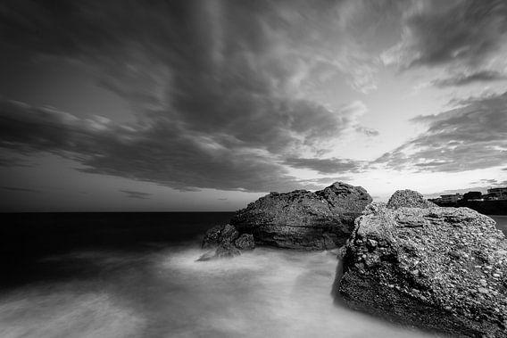 Sea, Rocks & Sky